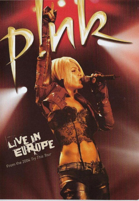 LIVE IN EUROPE /TRY THIS TOUR 2004/